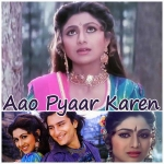 Chand Se Parda Kijiye - Aao Pyar Karen - 1994 - (VIDEO+MP3 Format)