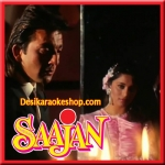 Bahut Pyar Karte Hain (Male) - Saajan - 1991 - (VIDEO+MP3 Format)