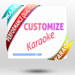 5 Customized Karaoke Mp3 (Discount Pack)