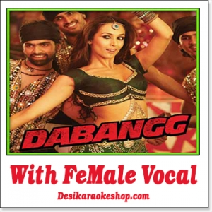 Munni Badnaam - With Female Vocal - Dabangg - (MP3 Format)
